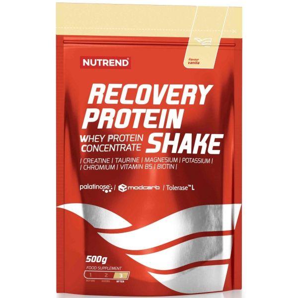 Nutrend RECOVERY PROTEIN SHAKE VANILKA  NS - Zmes na prípravu regeneračného nápoja