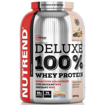 Nutrend DELUXE 100% WHEY 2250G ČOKOLÁDA + MANDLE - Proteín