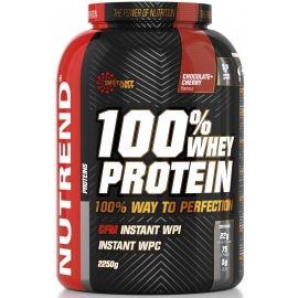 Nutrend 100% WHEY PROTEIN 2250G ČOKO TŘEŠEŇ - Protein