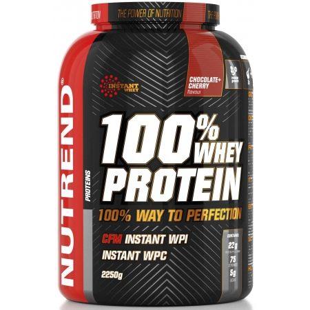 Nutrend 100% WHEY PROTEIN 2250G ČOKO ČEREŠŇA - Proteín
