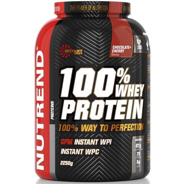 Nutrend 100% WHEY PROTEIN 2250G ČOKO ČEREŠŇA  NS - Proteín