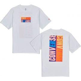 Converse REVERSE BOX TEE - Pánské triko