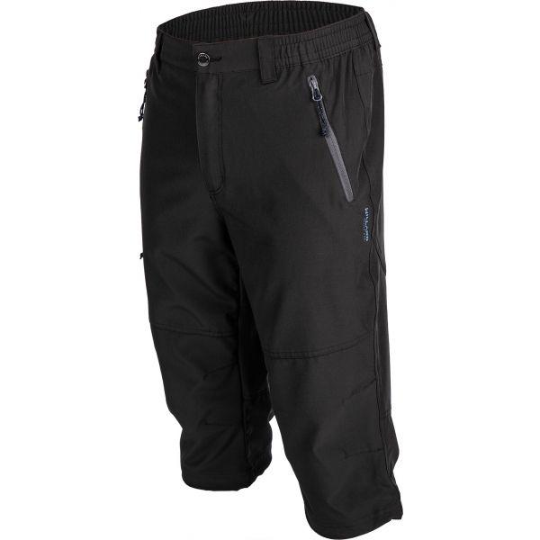 Willard FRED černá L - Pánské 3/4 kalhoty