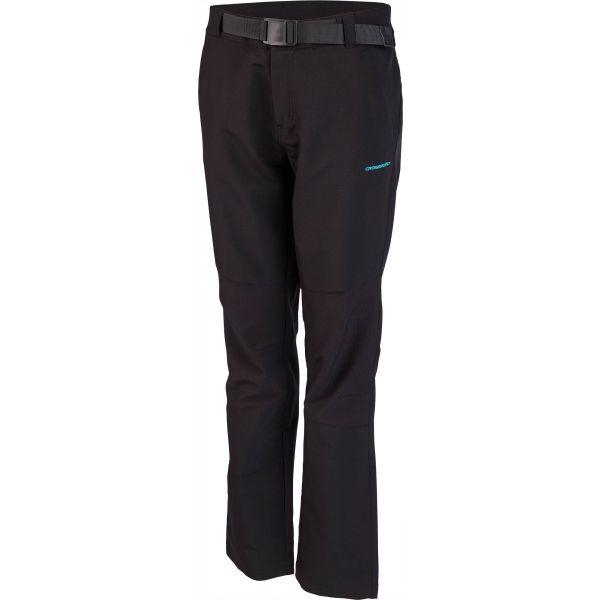 Crossroad AMIE čierna XXL - Dámske softshellové nohavice