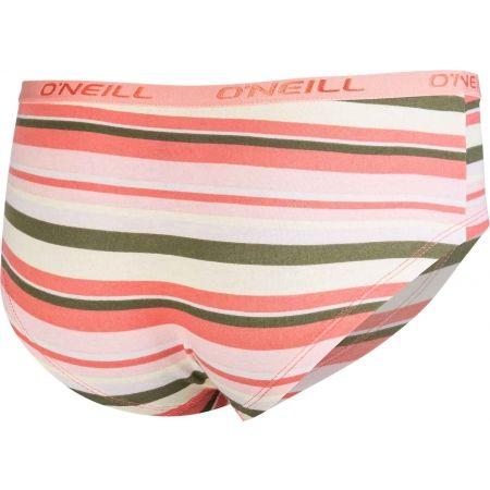 Dámské spodní kalhotky - O'Neill HIPSTER STRIPES 2-PACK - 3