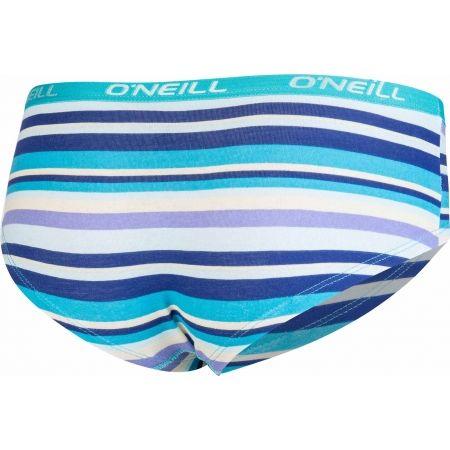 Dámské spodní kalhotky - O'Neill HIPSTER STRIPES 2-PACK - 4