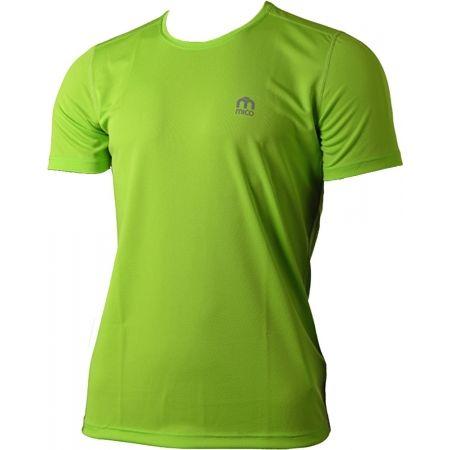 Pánské funkční běžecké triko - Mico SHIRT RUNNING