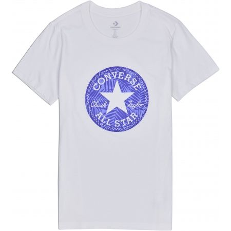 Converse SEASONAL CHUCK PATCH PALM FILL TEE - Koszulka damska