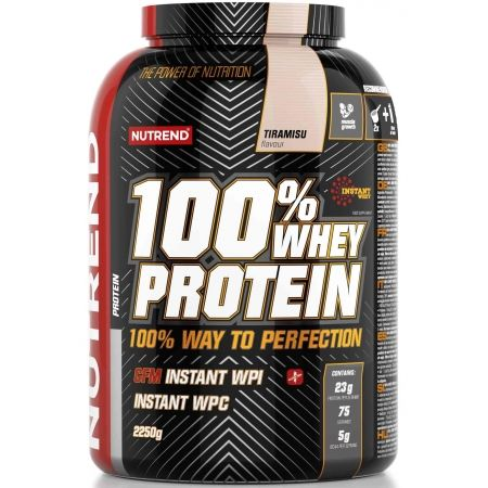 Proteín - Nutrend 100% WHEY PROTEIN 2250G TIRAMISU