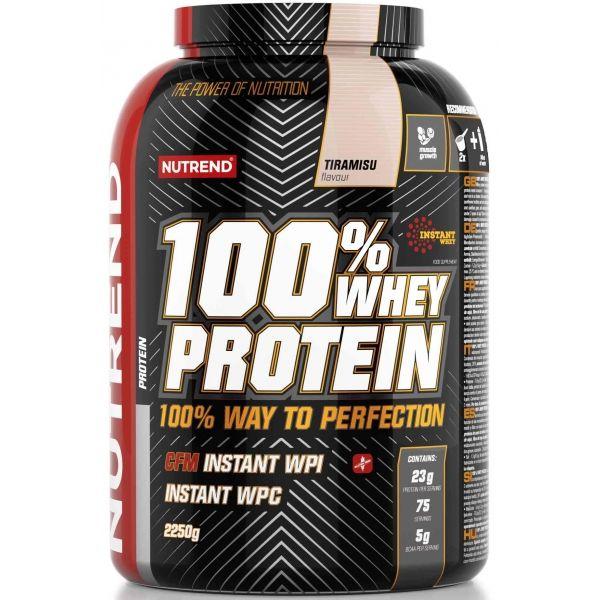 Nutrend 100% WHEY PROTEIN 2250G TIRAMISU - Proteín