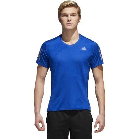 Pánské běžecké triko - adidas RESPONSE TEE M - 4