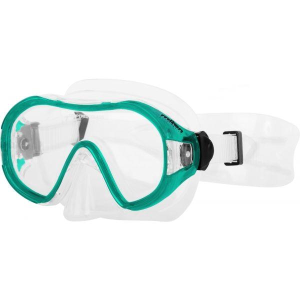 Miton POSEIDON JR zielony NS - Maska do nurkowania juniorska