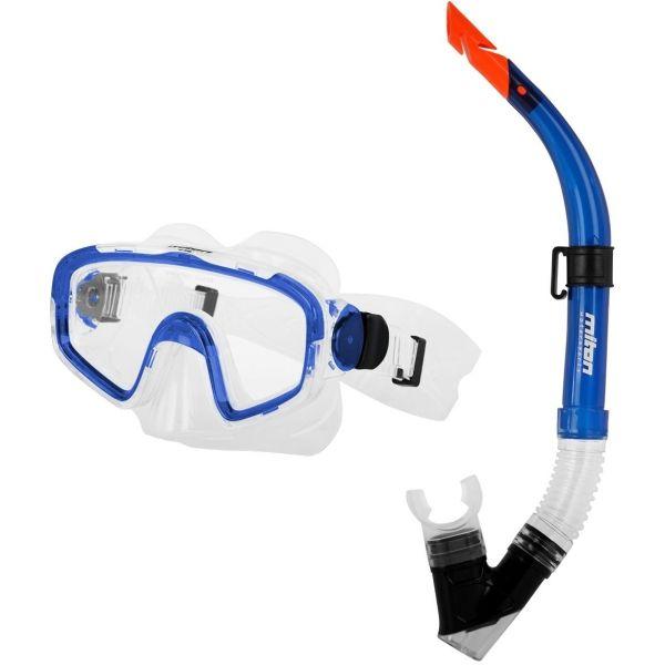 Miton TRITON BEACH niebieski NS - Zestaw do nurkowania