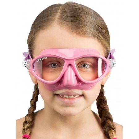 Juniorská potápačská maska - Cressi MOON JR MASK - 3