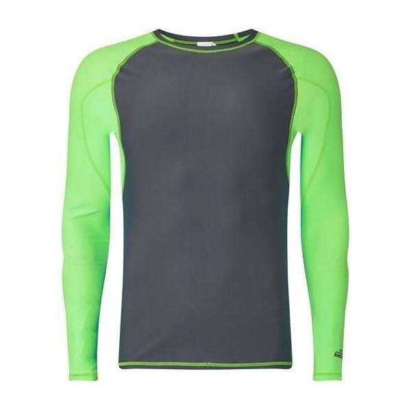 O'Neill PM LONG SLEEVE BACK LOGO SKINS zielony XXL - Koszulka z filtrem UV męska
