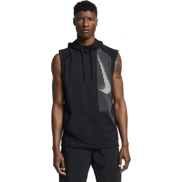 Nike DRY HD PO SLVS LV černá L - Pánská mikina