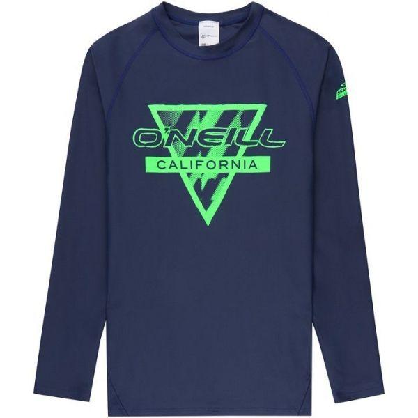 O'Neill PB LONG SLEEVE SKINS granatowy 14 - Koszulka z filtrem UV dziewczęca