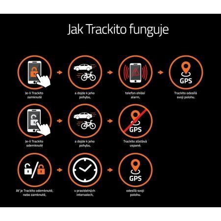 Chytrý GPS alarm - Trackito BIKE - 5