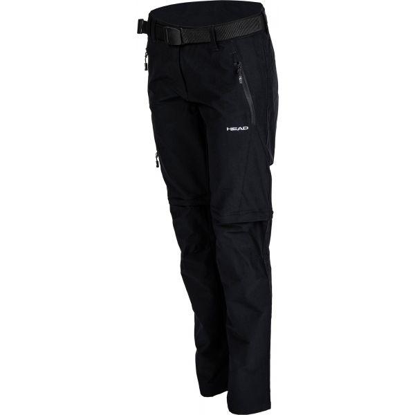Head GINA černá L - Dámské odepínatelné kalhoty