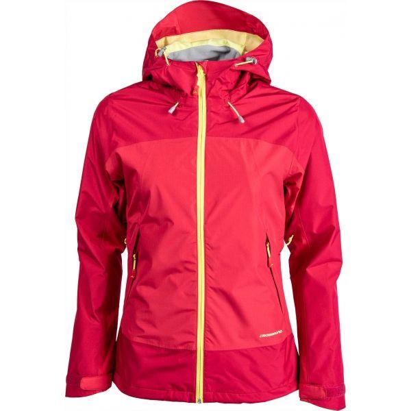 Crossroad MORAY ružová XL - Dámska outdoorová bunda