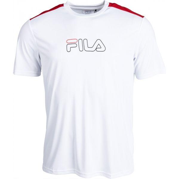 Fila EROL TEE biela M - Pánske tričko
