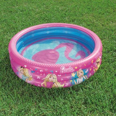 Надуваем басейн - Bestway BARBIE RING POOL - 3