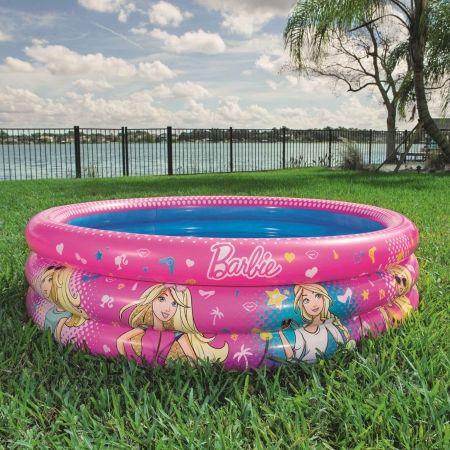 Надуваем басейн - Bestway BARBIE RING POOL - 4