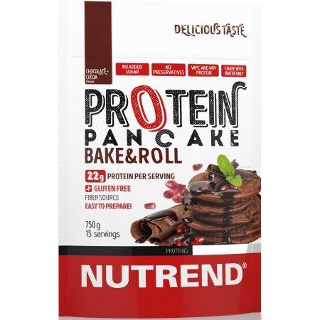 Proteín - Nutrend PROTEIN PANCAKE 750G ČOKOLÁDA+KAKAO