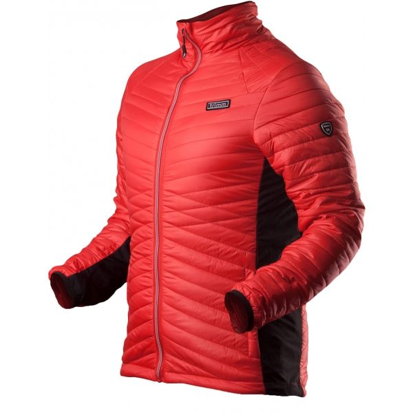 TRIMM ELDO červená Pánska celoročná bunda XL Trimm