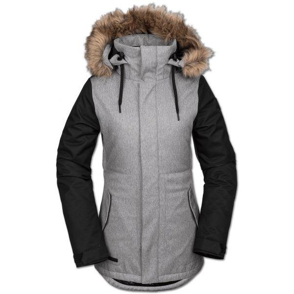 Volcom FAWN INS JACKET - Dámska lyžiarska/snowboardová bunda