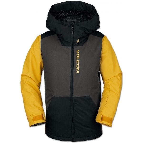 Volcom VERNON INS JACKET - Chlapčenská lyžiarska/snowboardová bunda