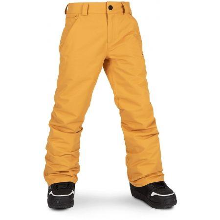 Volcom FREAKIN SNOW CHINO - Chlapecké lyžařské/snowboardové kalhoty