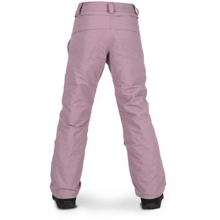 Dívčí lyžařské/snowboardové kalhoty - Volcom FROCHICKIDEE INS PNT - 2