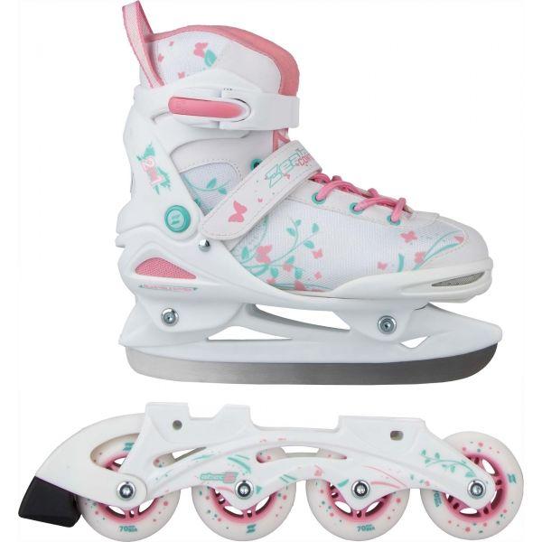 Zealot CONTOUR 2v1 - Detské in-line korčule a korčule na ľad v jednom