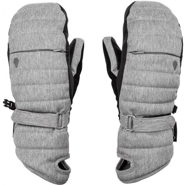 Volcom TARO GORE-TEX MITT sivá L - Dámske rukavice