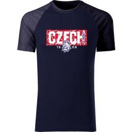 Střída CZECH V PATTERNU - Pánske tričko