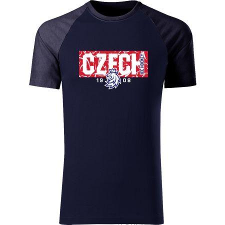 Střída CZECH V PATTERNU - Pánské triko