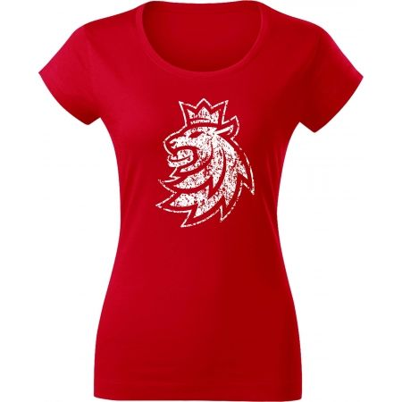 Střída LOGO LION PATINA CIHT - Women's T-shirt