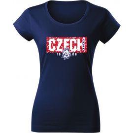 Střída NAPIS CZECH V PATTERNU - Дамска тениска