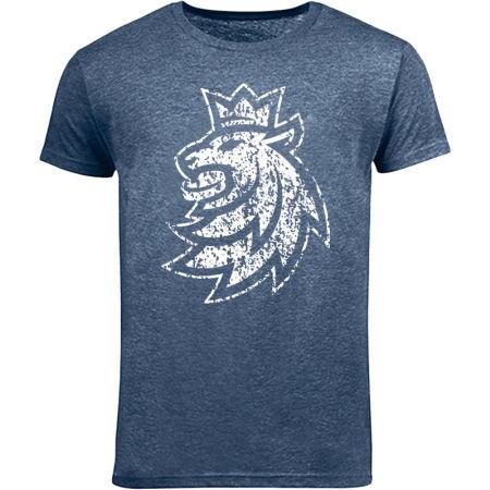 Dětské triko - Střída LOGO LEV PATINA CIHT - 1