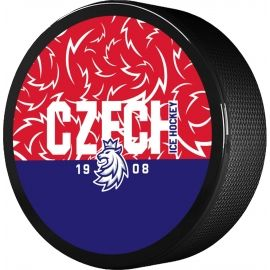 Střída NÁPIS CZECH V PATTERNU CIHT - Hokejový puk