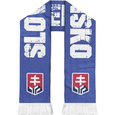 Střída OBOJSTRANNÝ ŠÁL S NÁPISOM SLOVENSKO - Obojstranný šál