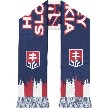 Střída ŠÁL S NÁPISOM HOCKEY SLOVAKIA - Obojstranný šál