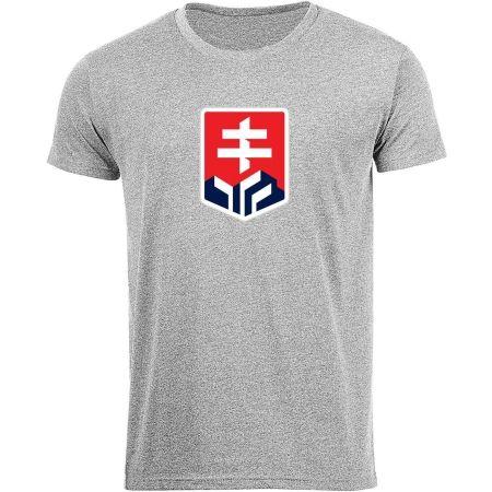 Střída MELANGE LOGO SVK - Men's T-shirt