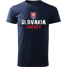 Střída NAPIS SLOVAKIA HOCKEY - Мъжка тениска