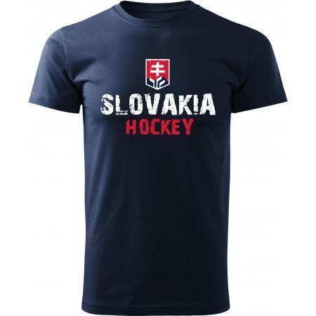 Pánské triko - Střída NAPIS SLOVAKIA HOCKEY - 1