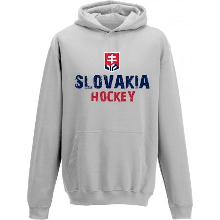 Dětská mikina - Střída KLOKANKA NAPIS SLOVAKIA HOCKEY - 1