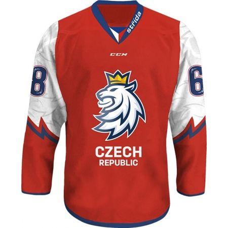 CCM KOSZULKA LOGO LEW CIHT 18/19 - Koszulka kibica Republiki Czeskiej