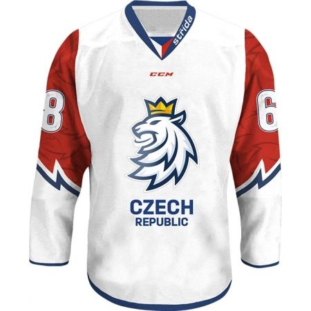 CCM JERSEY WITH A LION LOGO CZECH ICE HOCKEY 18/19 - Fan ice hockey jersey