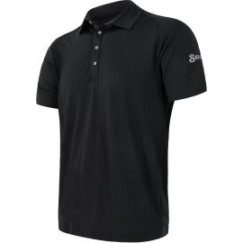 Sensor MERINO ACTIVE POLO M - Мъжка функционална тениска